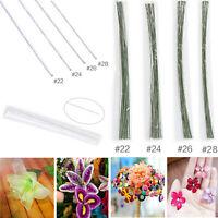 50pcs Florist Stub Wire Choice of Gauge & 35cm Length Floristry Wires -2 Colors