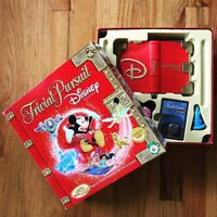 Trivial Pursuit Disney Edition Red Box 2005  Film Trivia Game 95% Complete