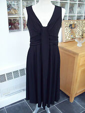 KALEIDOSCOPE BLACK COCKTAIL DRESS SIZE UK 12 R