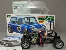 Tamiya 1/10 R/C Rover Mini Cooper Kit M03 Chassis +Spektrum Servo +TEU101BK ESC