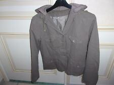 veste doublée avec capuche molleton taille L