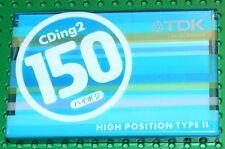 TDK  CDing II    VS.  III       150   CASSETTE TAPE (1)  (SEALED)