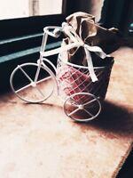 20 Bomboniera Matrimonio Battesimo comunione con gadget bicicletta