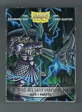 "Dragon Shields ""King Athromark Iii Matte"" Art Standard Card Sleeves (100ct)"