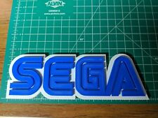 SEGA logo sign fan art 3D print video game USA