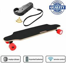 Electric Skateboard Youth Electric Longboard With Wireless Remote Control Red Us