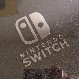 Nintendo Switch Console Label / Aufkleber / Sticker / Badge / Logo 56x63mm [464]