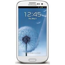 Broken Samsung Galaxy S3 White works with Boost Mobile - Sold As Is