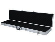"53"" Long Aluminum Locking Rifle Gun Case Shotgun Storage Box Carry Case w/ Keys"