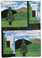 Pastoral Patchwork Wall Quilt quilting pattern instructions