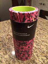 """Nike Textured Foam Roller For Gym, Yoga, Fitness 13"""" Length New Pink Color!"""