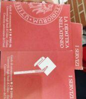 La didattica nell'ateneo cofanetto - Guide d'orientamento I e II - Aa.vv. - 1995