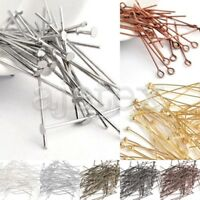 Wholesale Eye Pins/Head Pins/Ball Pins Jewelry Making Findings Needles All Sizes
