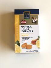 NEW ZEALAND Manuka Health Manuka Honey MGO™ 400+ Lemon 15 Lozenges  100% NATURAL