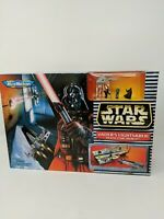 1997 Galoob Micro Machines Star Wars Vaders Lightsaber Death Star -NEW IN BOX