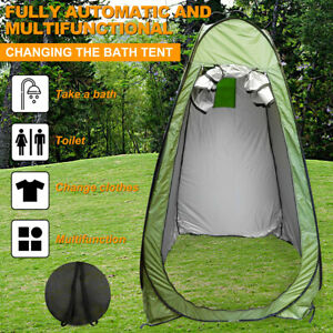 Outdoor Bathing Changing Room Instant Pop Up Tent Camping Shower Toilet Privacy