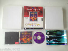 King's Quest 7 VII : The Princeless Bride SIERRA PC FR Big Box Boite Carton
