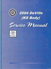2004 Cadillac DeVille Service Repair Shop Manual-3 Volume Book Set Gmp04Ks(Fits: Cadillac)