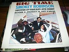Smokey Robinson-Big Time-LP-Tamla-T6 355S1-Vinyl Record-VG+