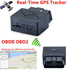 Car Vehicle Truck GPS Real Time Tracker Mini OBDII OBD2 Tracking Device GSM GPRS