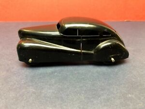 Vintage  1930's Wyandotte Pressed Steel  Black Coupe Car