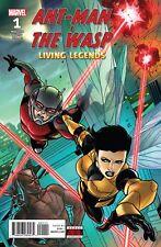ANT-MAN & THE WASP: LIVING LEGENDSY #1 (2018) MACCHIO, DI VITO, MARVEL NM