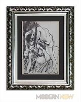 """P. PICASSO Lithograph """"11.7.40"""" Justification Limited Edition +++Custom FRAMING"""