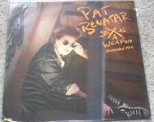 "pat benatar sex as a weapon  12"" vinyl single"