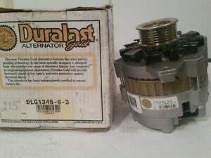 Alternator-Duralast Gold DLG1345-6-3 CHEVROLET/GMC 7.4  5.7  5.0 4.3L MANY YEARS