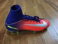 Nike Mercurial Superfly V FG Soccer Cleats Youth Sz 4.5 Womens Sz 6 Firm Ground