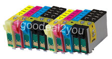 10PK T220XL Compatible Ink Cartridge for Epson XP320 XP420 WF2630 WF2650 WF2660