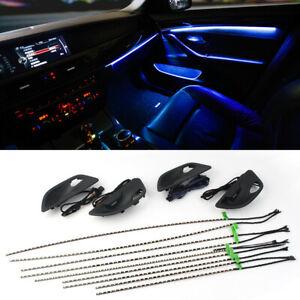 Ambientebeleuchtung LED Tür Lichtleiste Lichtstreifen passt für BMW 5er F10 F11