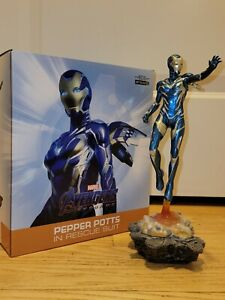 PEPPER POTTS IN RESCUE SUIT Art Scale 1/10 Statue Iron Studios Avengers: Endgame