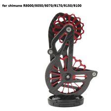 Bicycle Carbon Ceramic Rear Derailleur 17T Pulley Guide Wheel Shimano ULTEGRA