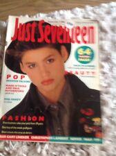 JUST SEVENTEEN MAGAZINE September 3rd 1986 Phil Oakey Human League