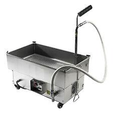 Adcraft OF-40 40 lb Oil Capacity Oil Filtration System Fryer Filter