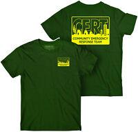 CERT t-shirt forest grn Community Emergency Response Team t-shirt, Preparedness,