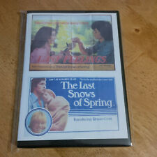 LAST FEELINGS and THE LAST SNOWS OF SPRING / TWINPACK  - TWO FILMS ON TWO DISCS