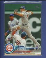 Javier Baez  2018 Topps Series 1 Card # 265  Chicago Cubs 2B MLB Baseball