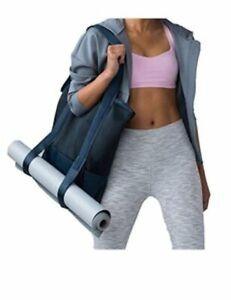 NWT Lululemon Hot Mesh Tote Bag Dark Forest/Travel Gym Yoga Weekend Diaper