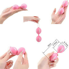 Duotone Ben Wa Ball On String Weighted Female Kegel Vaginal Tight ExerciseToyH&T