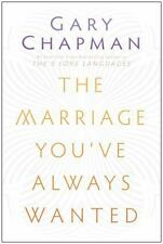 The Marriage You've Always Wanted, Chapman, Gary D