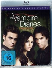 THE VAMPIRE DIARIES, Staffel 2 (4 Blu-ray Discs) NEU+OVP