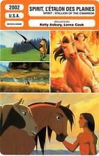 FICHE CINEMA : SPIRIT, L'ETALON DES PLAINES  2002 Stallion Of The Cimarron