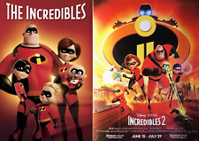 Sale Bn The Incredibles 1 or 2 Uchoose 4K Case, Bluray Case or Disc Disney Pixar