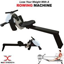 Schwerlast Magnetisch Rudern Cardio Workout Faltbar Rower Maschine Körper Former