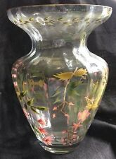 Crystal Clear Handcrafted Vase made in Romania