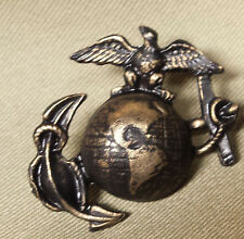 "WWI Reproduction USMC Eagle, Globe and Anchor ""SALTY"" Hat Insignia"