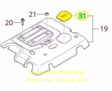 Fit 2003-2006 KIA Sorento Engine Oil Access Cover Oil Appearance Genuine part
