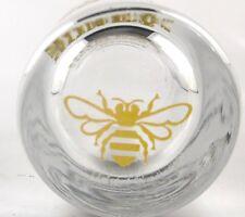 Jack Daniel's Tennessee HONEY Whiskey Shot Glass Honey Bee on Bottom of Glass